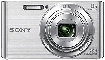 Sony DSCW830S.CE3 Appareil photo numérique compact 20,1 Mpix Zoom optique 8x Argent