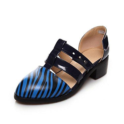 adee-femme-pointed-toe-pu-sandales-a-enfiler-bleu-bleu-fonce-36