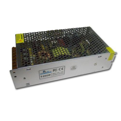 (LA) Fuente alimentacion transformador 12V 250W para strip tira de LED