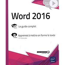 Word 2016 - Complément vidéo : Apprenez à mettre en forme le texte