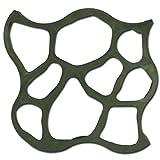 @tec Betonform Schalungsform Gießform Plastikform-Schablone 80x80x4 cm - für Beton, Natursteinpflaster, Kopfsteinpflaster, Pflastersteine, Terrassenplatten, Trittplatten und Gehwegplatten für Garten