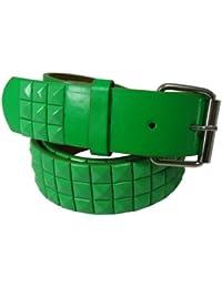 Nice auténtica Shades funda de piel verde fijación A presión con tachuelas  hebilla de cinturón con c77aceb3825f