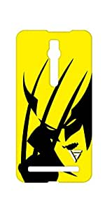 Vogueshell Wolverine Printed Symmetry PRO Series Hard Back Case for Asus Zenfone 2