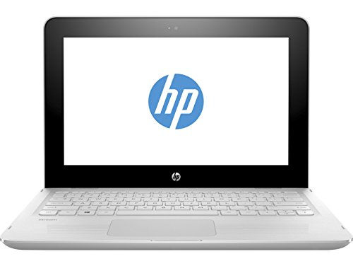 "HP Stream x360 11-aa001ns - Ordenador portátil de 11.6"" (Intel Celeron N3060, 2 GB de RAM, 32 GB eMMC, HD Intel 400, Windows 10 Home 64) blanco nieve - teclado QWERTY Español"