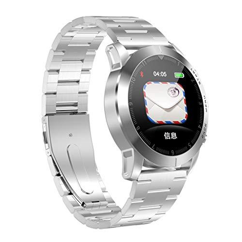 Smartwatch, Elospy Wasserdicht IP68 Fitness Armband Trackers Wasserdicht Uhr Mit Pulsmesser Smart Watch 8 Sportarten Modi Armbanduhr für Damen Herren Android iOS Mit Schrittzähler Kalorienzähler