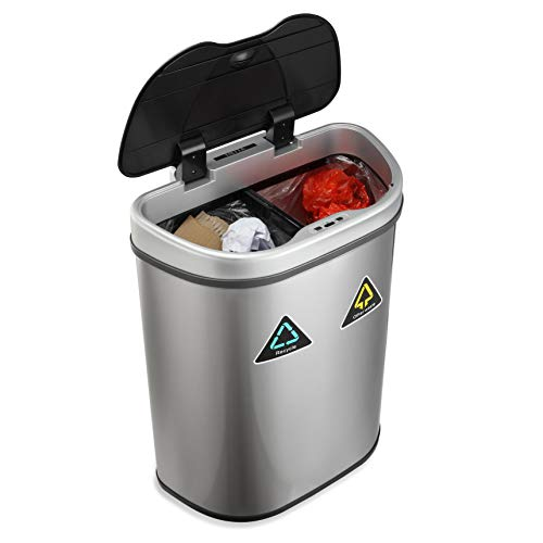 NETTA 70L Kitchen Recycling Sensor Bin