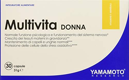 yamamoto research integratore di vitamine e minerali, donna - 30 capsule