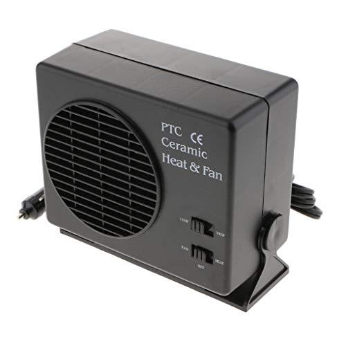 Sharplace 12V 150W / 300W Defroster Demister Calefactor