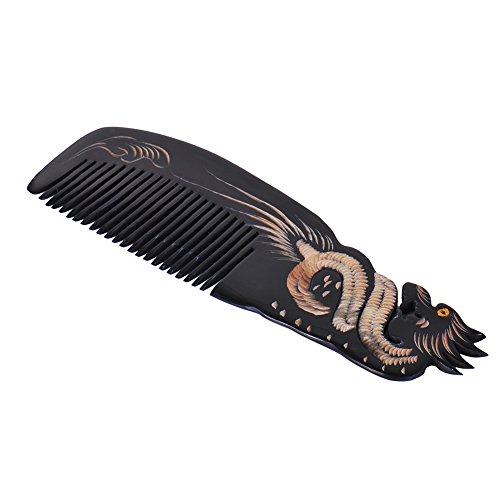 Peigne en véritable corne Modèle Dragon