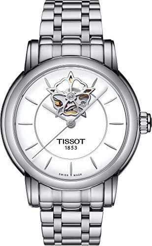 TISSOT - Montre Femme Lady Heart Automatique T0502071101104 Bracelet En Acier - T0502071101104