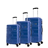 اميريكان توريستر حقائب سفر بعجلات 3 قطع ، ازرق