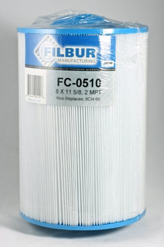 Filbur FC-0510 antimikrobielle Ersatzfilterpatrone für Grecian and Discovery Top Load Pool und Spa Filter - Grecian Spas
