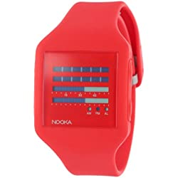 Nooka Unisex Zub Zenh 20 Fire Engine Red Watch ZUB ZENH FR 20