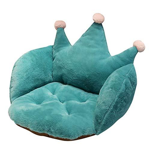 MOSU Unterstützung Taille Rückenlehne Pad Sitz Polster, Beste Polster zum Zuhause Stuhl, Auto Sitz, Liege Dekoration -Grüne Hälfte umgeben -