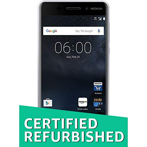 (Certified REFURBISHED) Nokia 6 (Silver, 32GB)