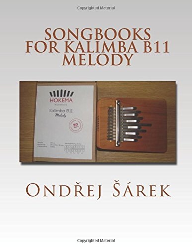 Songbooks for Kalimba B11 Melody