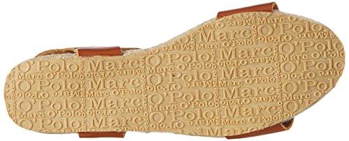 Marc O'Polo Espandrilles Sandal, Espadrilles femme Marron - Braun (saddle 725)