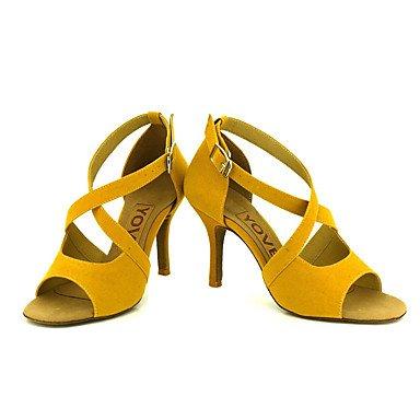 Ruhe @ Damen Beruf Dance Schuhe Gelb