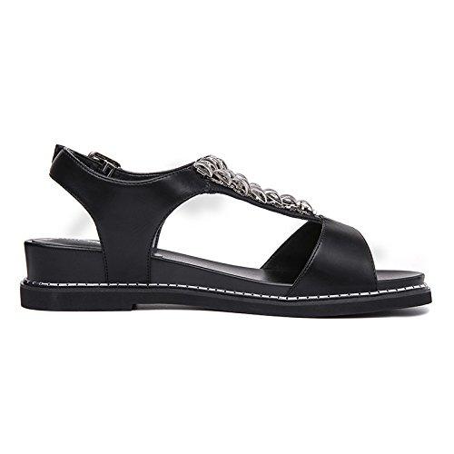 KHSKX-Les Diamants Des Chaussures De Femmes LÉté De Nouvelles Chaussures Occasionnels À Fond Plat Thirty-eight