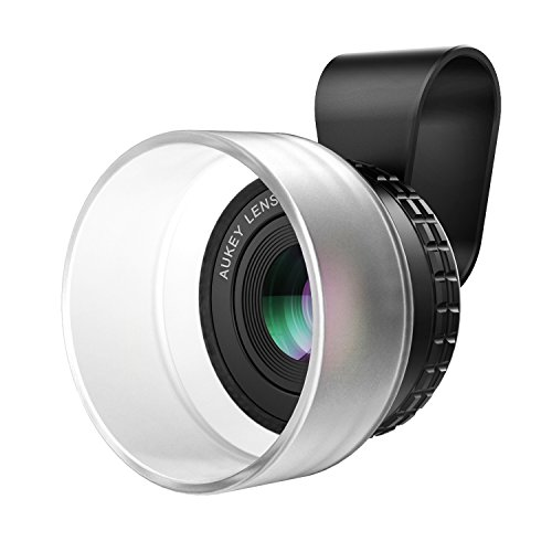 Galleria fotografica AUKEY Lente Macro 10X Clip On Senza Deformazione Lenti Smartphone per iPhone 7 / 6 / 6 plus / 6s / 6s Plus , Samsung , HUAWEI , Xiaomi ecc.