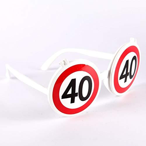 Udo Schmidt Lustige Sonnenbrille zum 40. Geburtstag