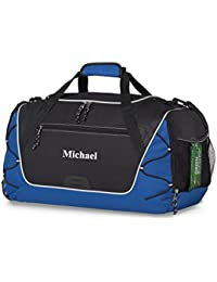 Personalized Sports Duffel Bag - Gym, Fitness, Workout, Travel, Camping Bags For Men Women