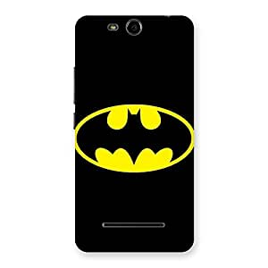 Enticing Classic At Back Case Cover for Micromax Canvas Juice 3 Q392