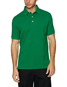 Tommy Hilfiger Men's Basic Pique Polo Golf Apparel - Mineral, Medium