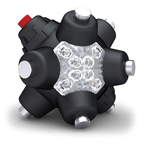 0107 Magnetische Leuchtstab Professional - LED Taschenlampe, schwarz ()