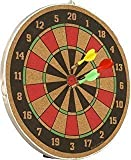 #8: Tavakkal® 16 inch Double Faced Flock Printing Thickening Family Game Dart Board with Free 3 Needle (16 inch)