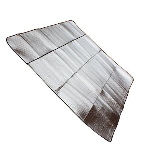 Sharplace Aluminium Matte - Alu Isoliermatte, Campingmatte, Outdoor Wasserdichte Matte, Verschiedene Größen - 150x200cm