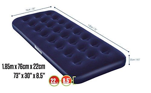 luftbett-gstebett-aufblasbar-fr-1-person-beflockt-vinyl-boden-coil-beam-constuction-blau