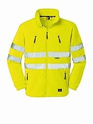 4Protect 20-003465-3XL 4 Protect Warnschutzjacke Seattle 3465 Fleecejacke 3XL, gelb