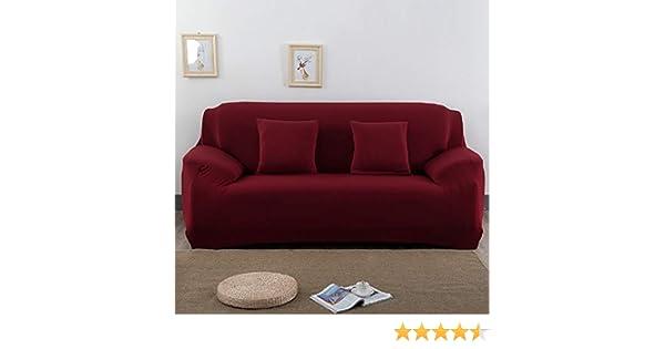 190-230 cm Housse de canap/é Canap/é 3 Places Capalta Housse de canap/é Housse de canap/é Couleur : Bordeaux