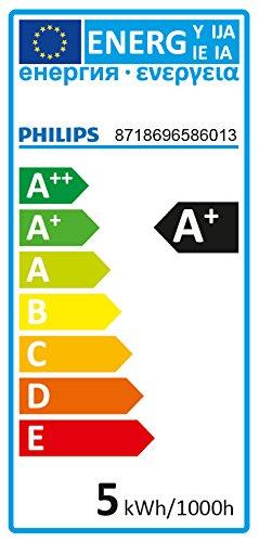Philips-Bombilla-LED-Foco-GU10-Cristal-46-W-Equivalente-a-50-W-Luz-Blanca-Clida-355-Lmenes-No-Regulable-Pack-de-6