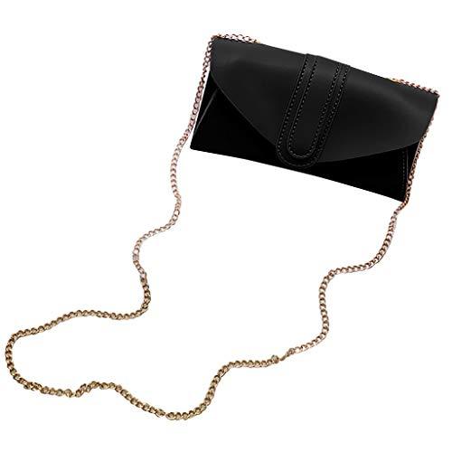 Damen Umhängetasche Taschen Shoulder Bag Handtasche Schultertasche Satchel Schulter handbag Rucksack,Lässig Feste Kette Einzelne Schulter Messenger Bags - Chart Leinwand Arbeit