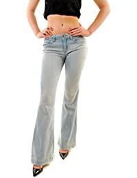 DL1961 Femme JOY SUPER Taille Haute FLARE Dalloway Jeans Taille 27