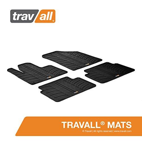 Travall® Mats Gummifußmatten - Original Travall® Zubehör TRM1045 - Allwettermatten nach Maß