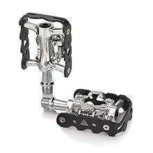 XLC System-Pedal-2501820800, Sistema Pedale. Unisex-Adulti, Nero, Taglia unica