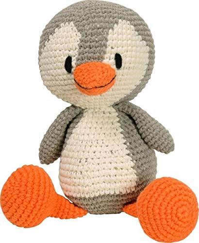 Strickmoden Bruno Barthel 87000-052500 - Pingüino de Ganchillo (tamaño Grande), Multicolor