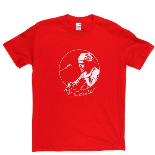 Ry Cooder Ryland American Musician Slide Guitar Roots Music T-shirt Rot