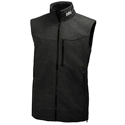 Helly Hansen Weste Paramount Vest Chaleco, Hombre, Negro, XL