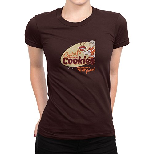 Planet Nerd - Carol's homemade Cookies - Damen T-Shirt Braun