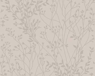 Schöner Wohnen 151469 Vliestapete, Mustertapete, floral, cappucino von Livingwalls bei TapetenShop