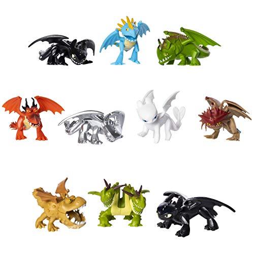 Spin Master 6045161 Movie Line-6045161-Mystery Dragons, Sammelfigur, Drachenzähmen leicht gemacht 3, Die geheime Welt, Multicolour