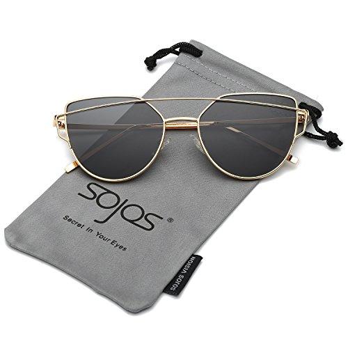 Specchiati Gatto Sole SOJOS di da Moda Moderni Occhiali Occhi Donna UwUX6xzgq
