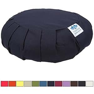 CalmingBreath Zafu Meditation Cushion - Fits All Sizes