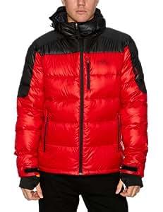 Craghoppers Herren Daunenjacke Bear Arctic Down, bear red/black, S, CMN132   93R50