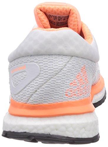 adidas Performance Response Boost Damen Laufschuhe Mehrfarbig (Flash Orange S15/Ftwr White/Core Black)