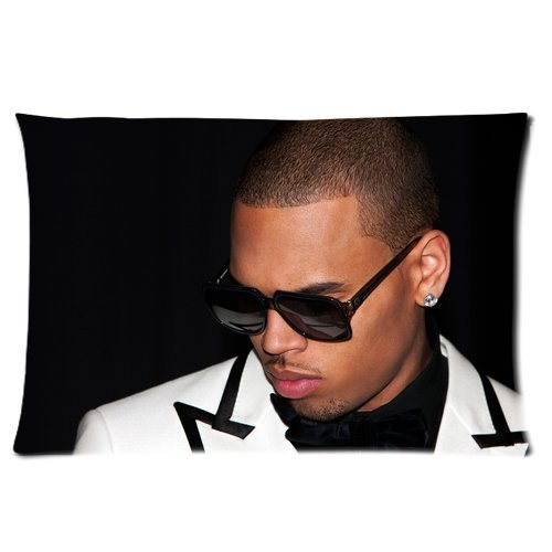 chris-brown-with-sunglasses-famous-singer-and-actor-grammy-award-ama-vma-personalized-rectangle-pill